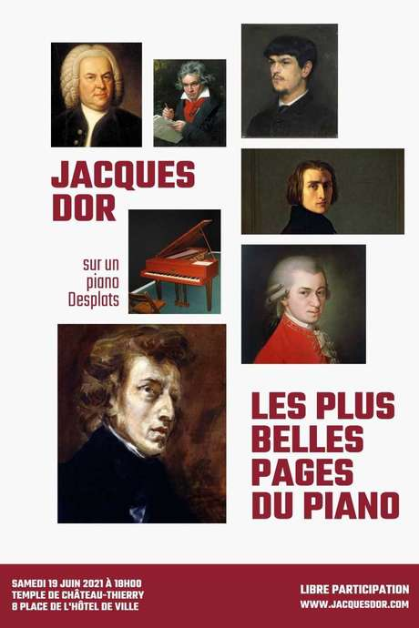 CONCERT : Jacques Dor