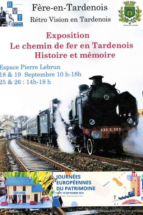 Les journées du patrimoine, le chemin de fer en Tardenois, histoire et mémoire