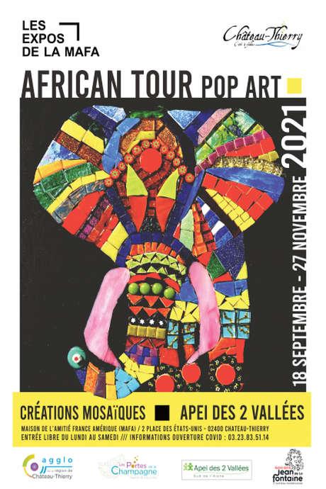 EXPO : African tour pop art
