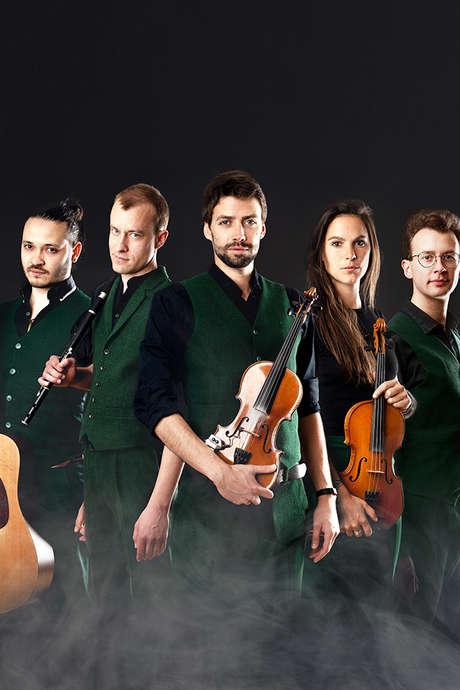 Musique en Omois : Green Lads + Karaboudjan
