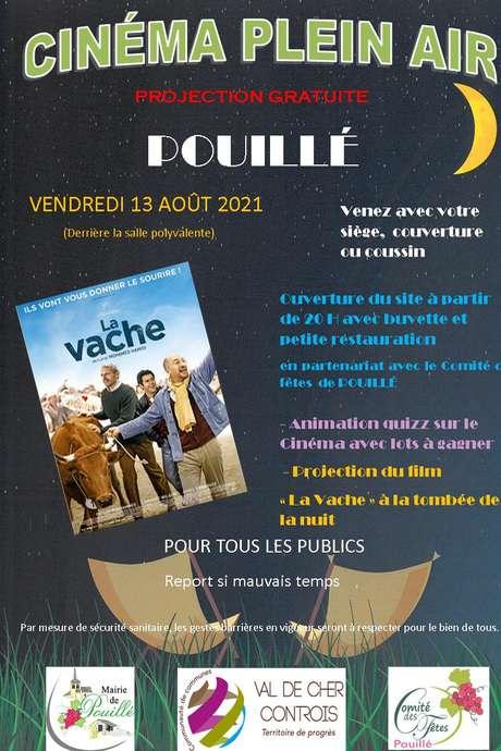 Cinéma en plein air à Pouillé