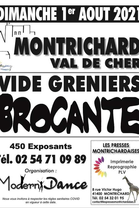 Vide-grenier - Brocante à Montrichard