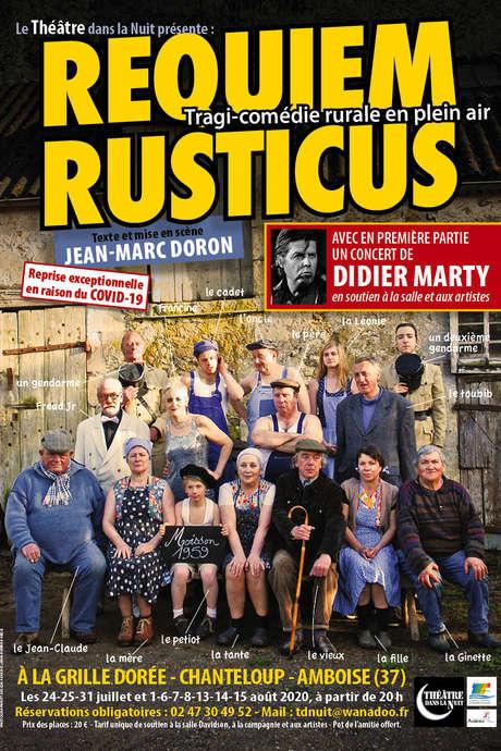 Théatre en plein air : Requiem Rusticus à Amboise