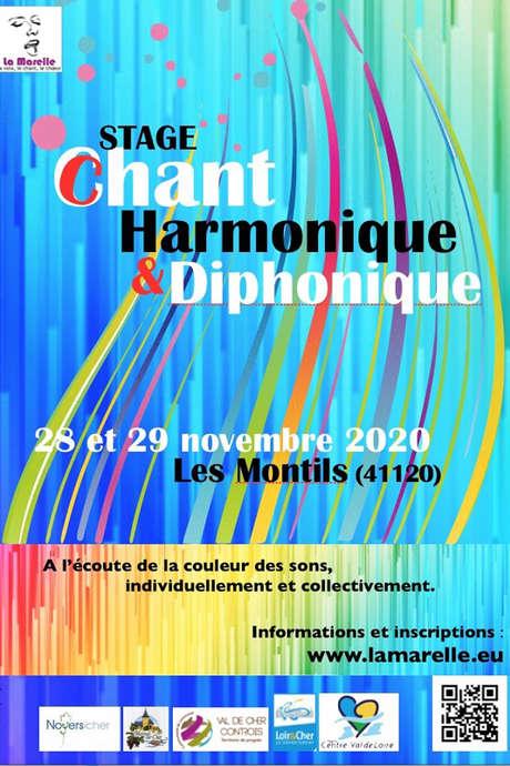 Stage de chant : « Chant harmonique et diphonique », à la rencontre des couleurs du son