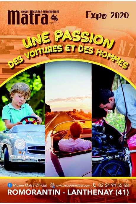 """Exposition automobile """"Une passion, des voitures et des hommes"""""""