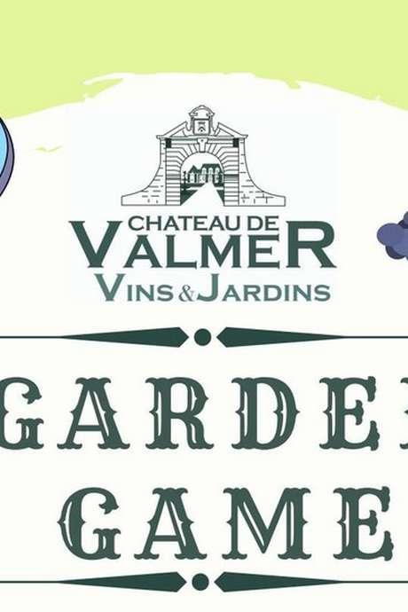 """""""Garden Game""""dans les jardins du Château de Valmer"""