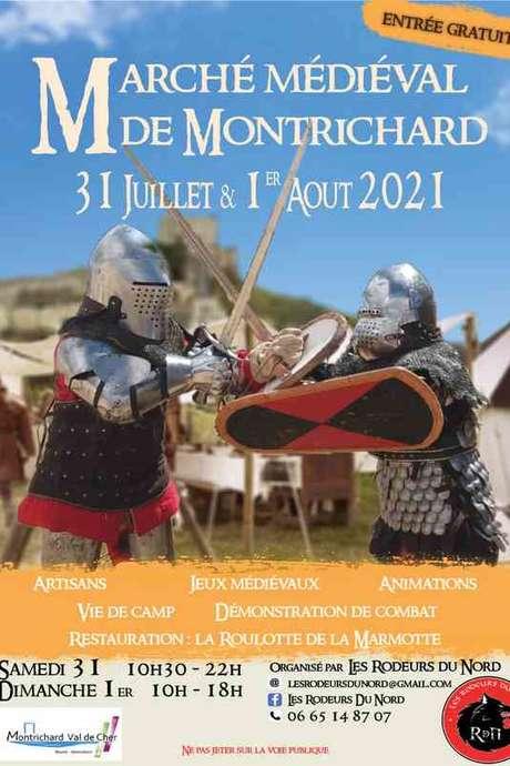 Marché médiéval à Montrichard