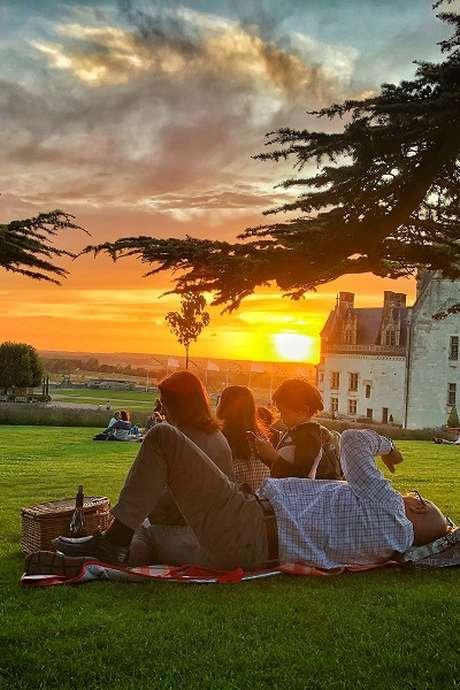 Soirées Pique-nique panoramique au château Royal d'Amboise
