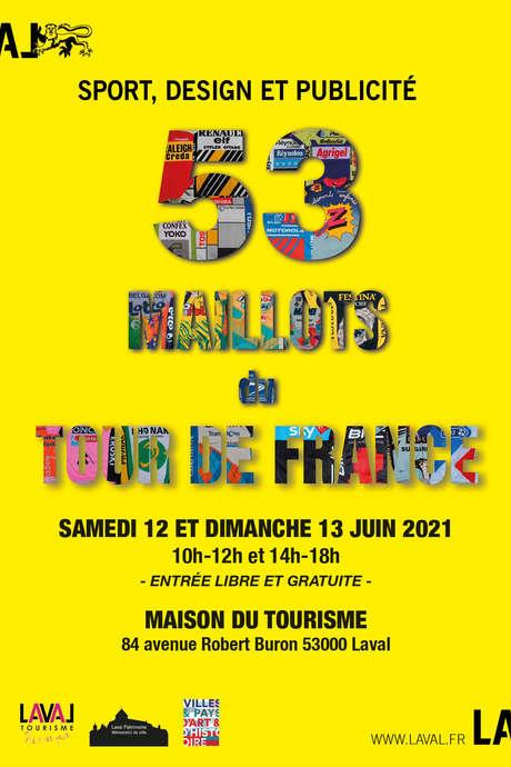 53 MAILLOTS DU TOUR DE FRANCE