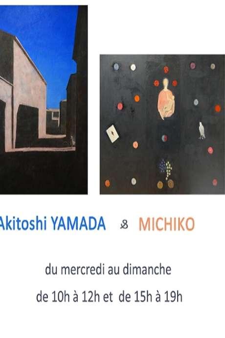 Exposition en duo des artistes Akitoshi YAMADA & MICHIKO