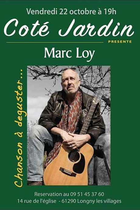 Repas en chansons : Côté jardin présente Marc Loy