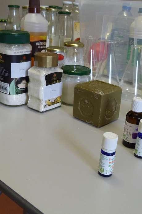 Atelier famille : Fabrication de produits ménagers bio