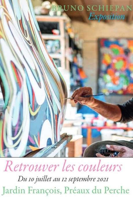 Retrouver les couleurs  - Exposition de Bruno Schiepan au Jardin François