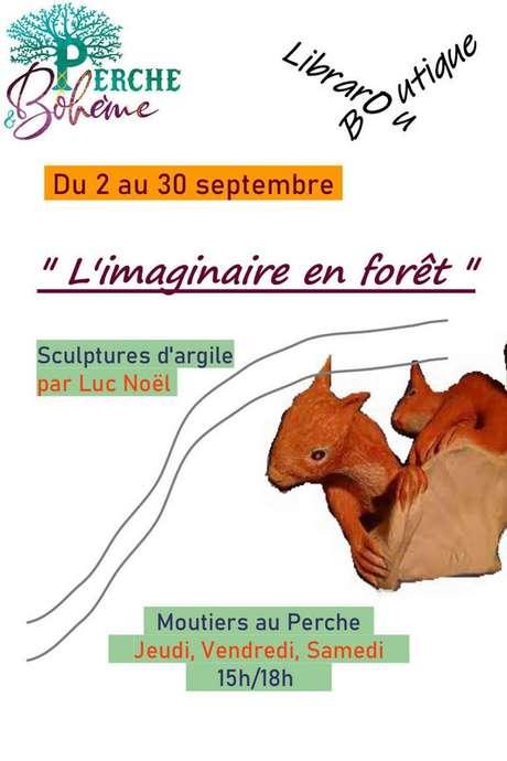 """""""L'imaginaire en forêt"""" - Exposition"""