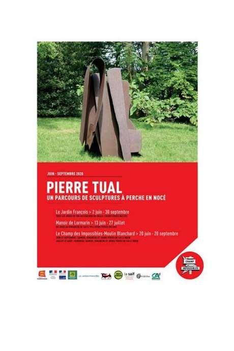 Pierre TUAL - Parcours de Sculptures