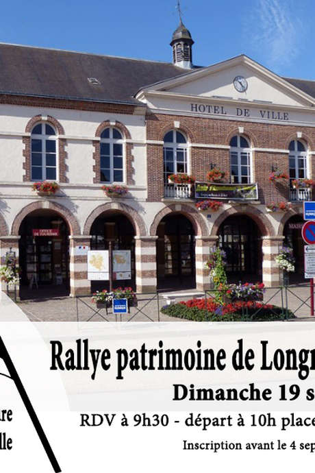 Rallye patrimoine de Longny-les-Villages