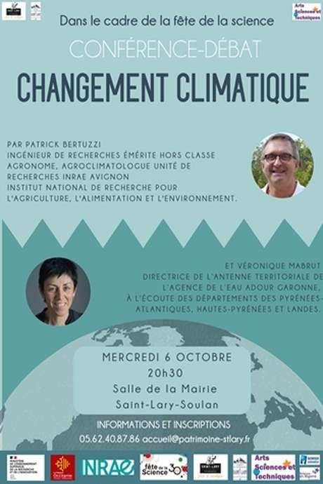 """Conférence Débat """"Changement climatique"""""""