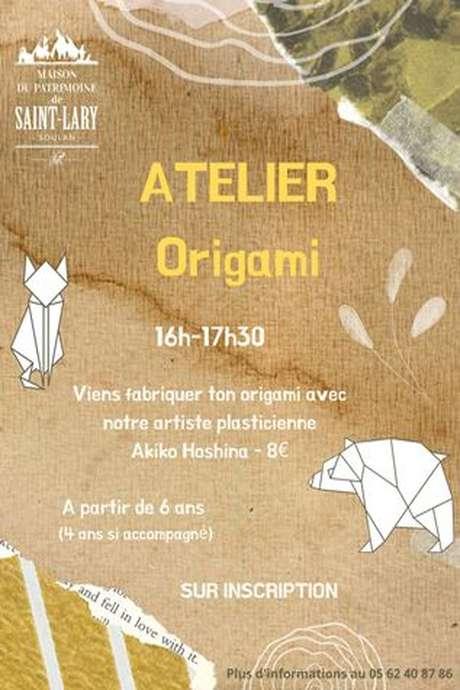 Atelier Origami avec Akiko Hoshina