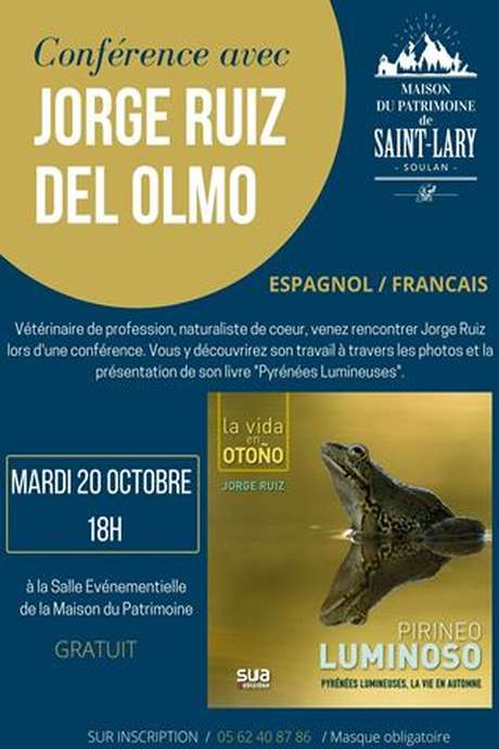 Conférence Photographe Jorge Ruiz del Olmo