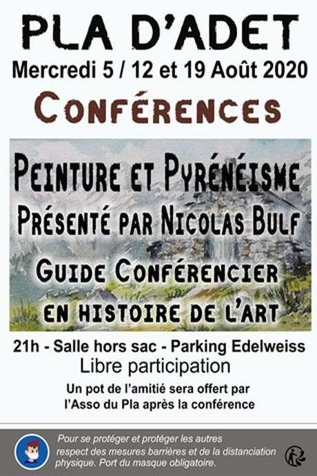 """Conférence """"Peinture et Pyrénéisme"""" au Pla d'Adet"""