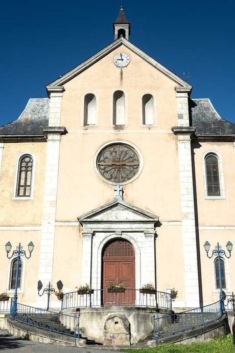 Ouverture de l'église d'Ancizan