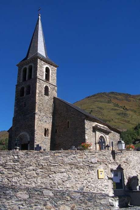 Ouverture de l'église d'Azet
