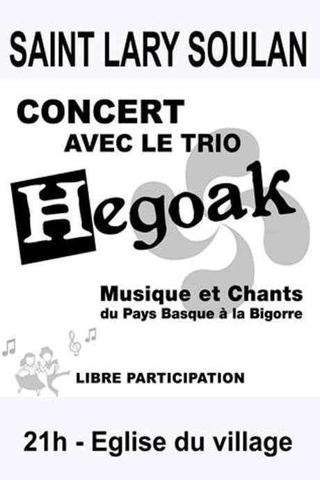 Concert Trio Hégoak