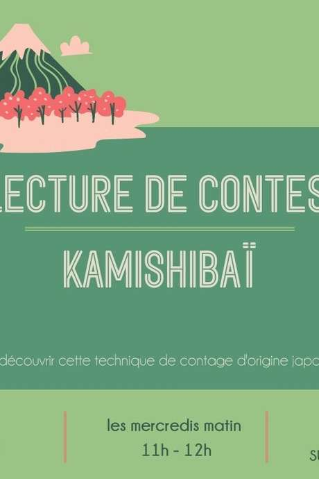 Lecture de contes Kamishibaïs à la Maison du Patrimoine