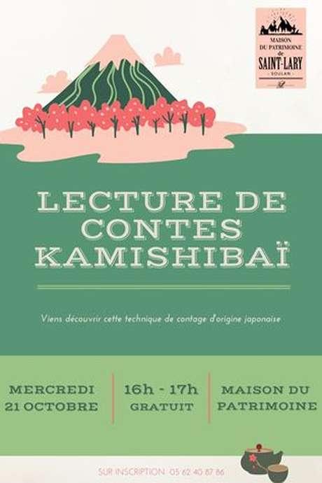 Lecture de contes Kamishibaï à la Maison du Patrimoine