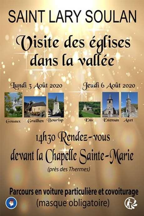Visite des églises dans la vallée