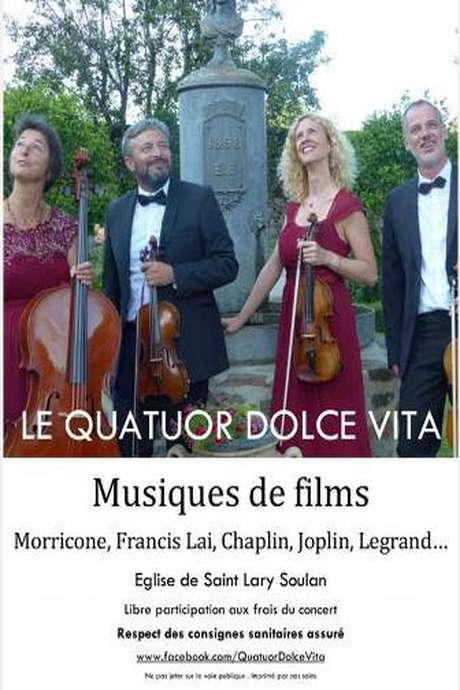 Concert quatuor Dolce Vita