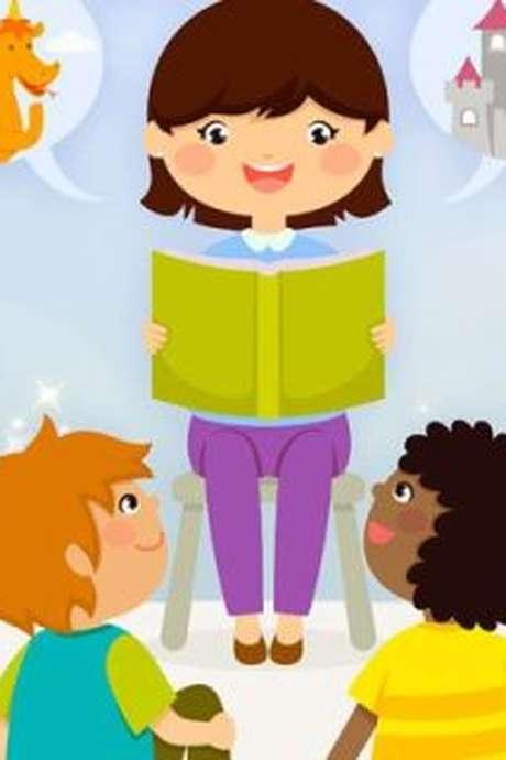 Lecture de contes pour enfants