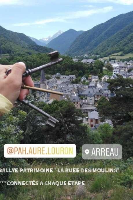"""Rallye Patrimoine """"la ruée des moulins"""""""