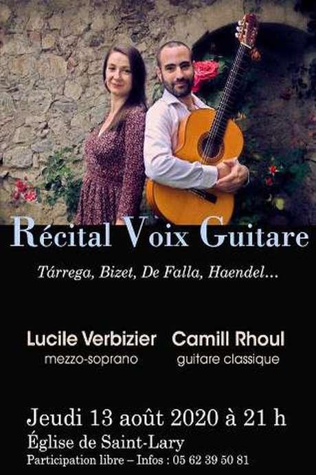 Recital Voix et Guitare