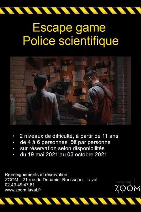 L'ESCAPE GAME POLICE SCIENTIFIQUE