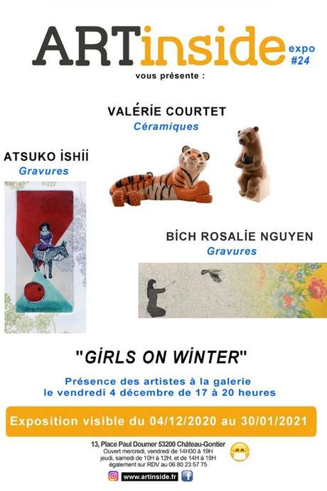 EXPOSITION : GIRLS ON WINTER