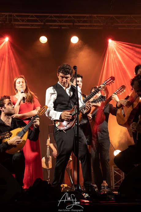 Concert Féloche & The Mandolin'Orchestra