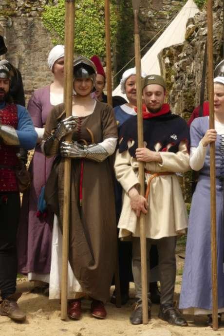 Chateau de Tonquedec - Animations médiévales