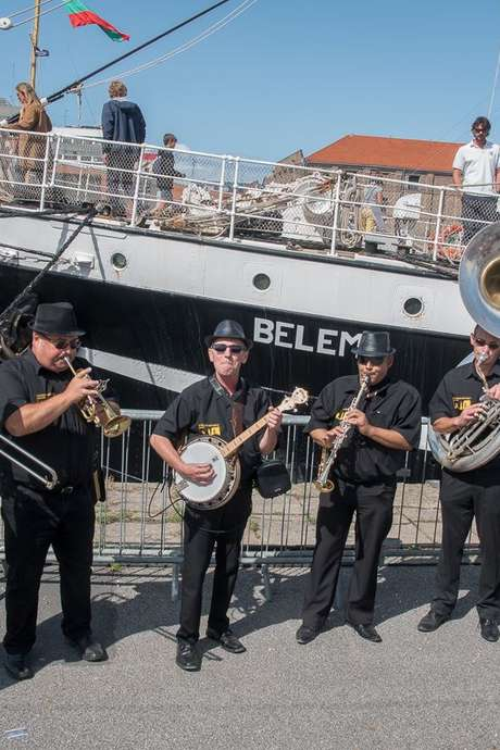 Louisiane and Caux Jazz Band - Concert
