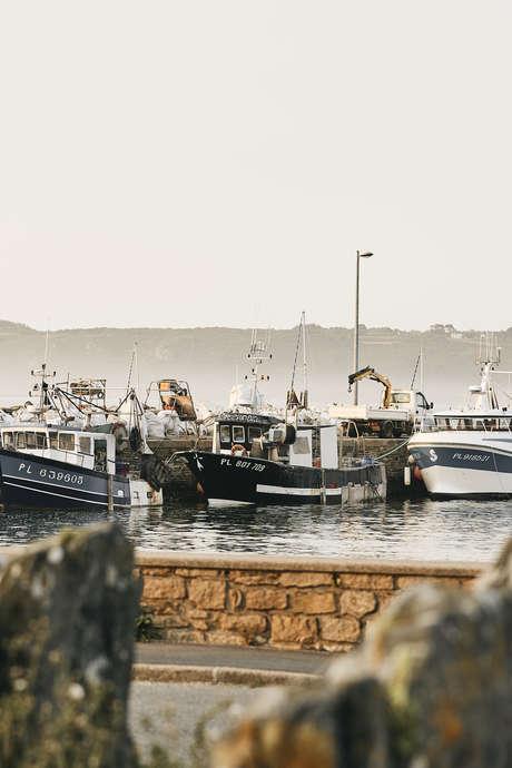 Histoire du port de Locquémeau