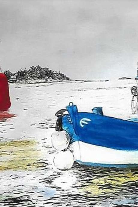 Encres et aquarelles de AM Hude-Bouillaud