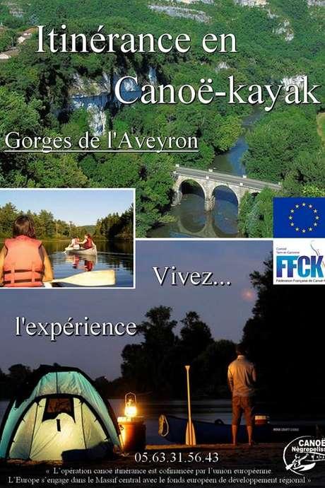 Itinérance canoë-kayak