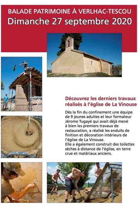 Balade patrimoine à Velhac-Tescou