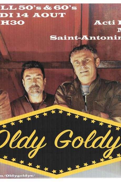 Concert Rock n Roll 50's-60s avec Oldy Goldy