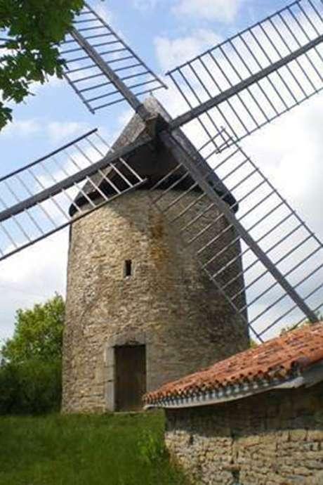 Visite et mise au vent du moulin de Saillagol 20 septembre  2020