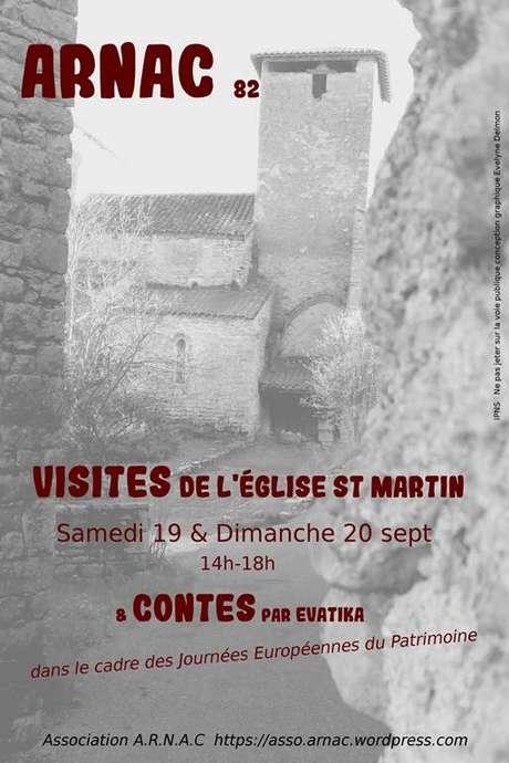Journées Européennes du Patrimoine - Eglise de St Martin (Arnac)