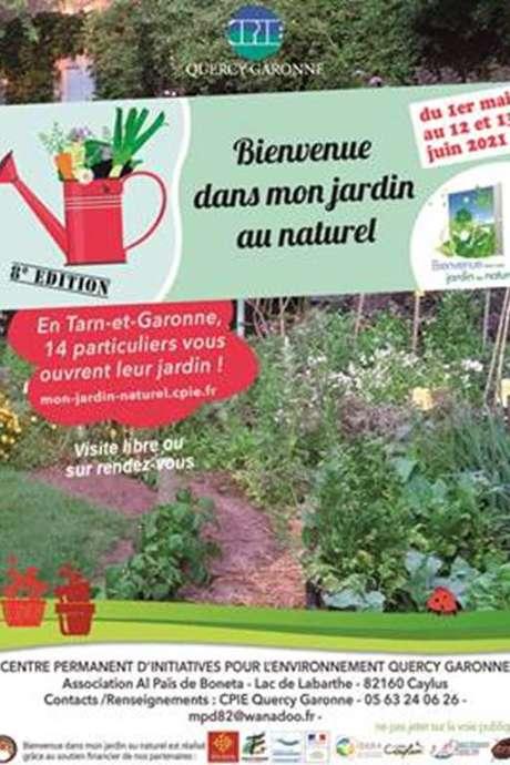 Bienvenue dans mon jardin à Saint-Antonin-Noble-Val