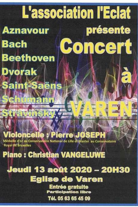 Concert à l'Eglise de Varen