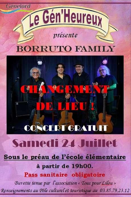 Festival Le Gén'Heureux - Borruto Family