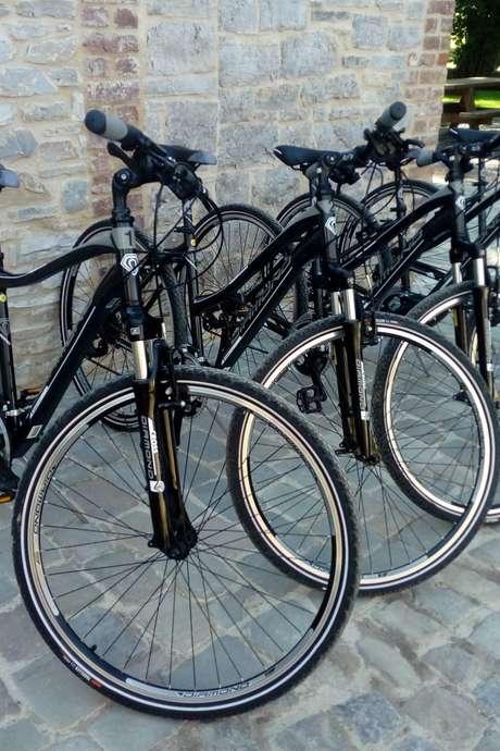 Des vélos à louer au Moulin Ferrières
